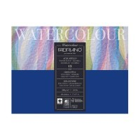 Альбом для акварели FABRIANO Watercolour Studio Cold pressed, 300г/м2, 18x24см, Фин, склейка 12 листов