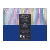 Альбом для акварели FABRIANO Watercolour Studio Cold pressed, 300г/м2, 24x32см, Фин, склейка 12 листов