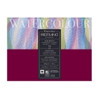 Альбом для акварели FABRIANO Watercolour Studio Cold pressed, 200г/м2, 24x32см, Фин, склейка 75 листов