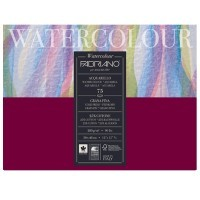 Альбом для акварели FABRIANO Watercolour Studio Cold pressed, 200г/м2, 30x40см, Фин, склейка 75 листов