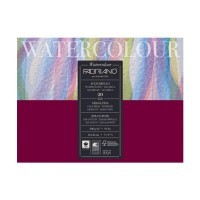 Блок для акварели FABRIANO Watercolour Studio Cold pressed, 200г/м2, 18x24см, Фин, склейка 20 листов