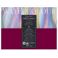 Блок для акварели FABRIANO Watercolour Studio Cold pressed, 200г/м2, 30x40см, Фин, склейка 20 листов