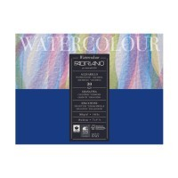 Блок для акварели FABRIANO Watercolour Studio Cold pressed, 300г/м2, 18x24см, Фин, склейка 20 листов
