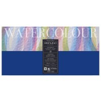 Блок для акварели FABRIANO Watercolour Studio Cold pressed, 300г/м2, 20x40см, Фин, склейка 20 листов