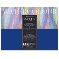 Блок для акварели FABRIANO Watercolour Studio Cold pressed, 300г/м2, 30x40см, Фин, склейка 20 листов