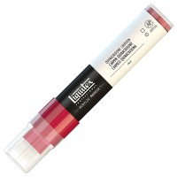 Маркер акриловый Liquitex PAINT MARKER Wide 15мм, 110 хинакридон малиновый