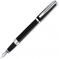Ручка перьевая Waterman Exception Night & Day Platinum ST, перо F золото 18K