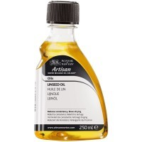 Масло льняное ARTISAN Water Mixable Linseed Oil, 250мл