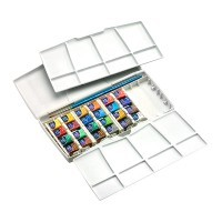 Набор акварели Winsor&Newton COTMAN, Painting Plus, 24 цвета