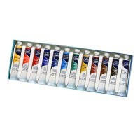 Набор акварели Winsor&Newton COTMAN, 12 Tube Set, 12 цветов (тубы)
