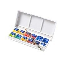 Набор акварели Winsor&Newton COTMAN, Sketchers' Pocket Box, 12 цветов
